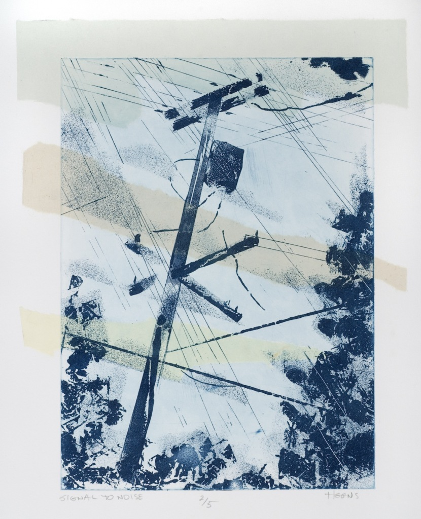 Signal To Noise Small (etching)